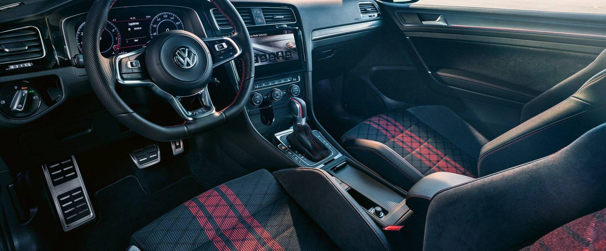 Intérieur de la Golf GTI TRC