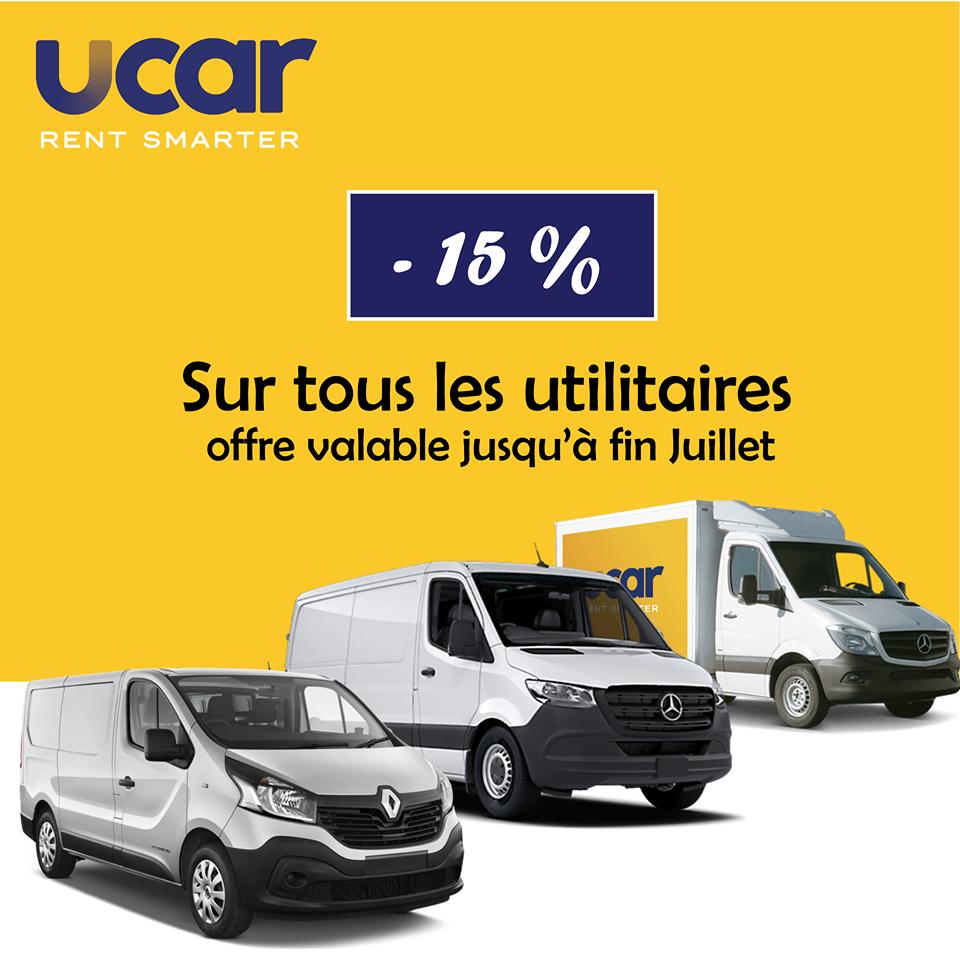 promotion utilitaires Ucar