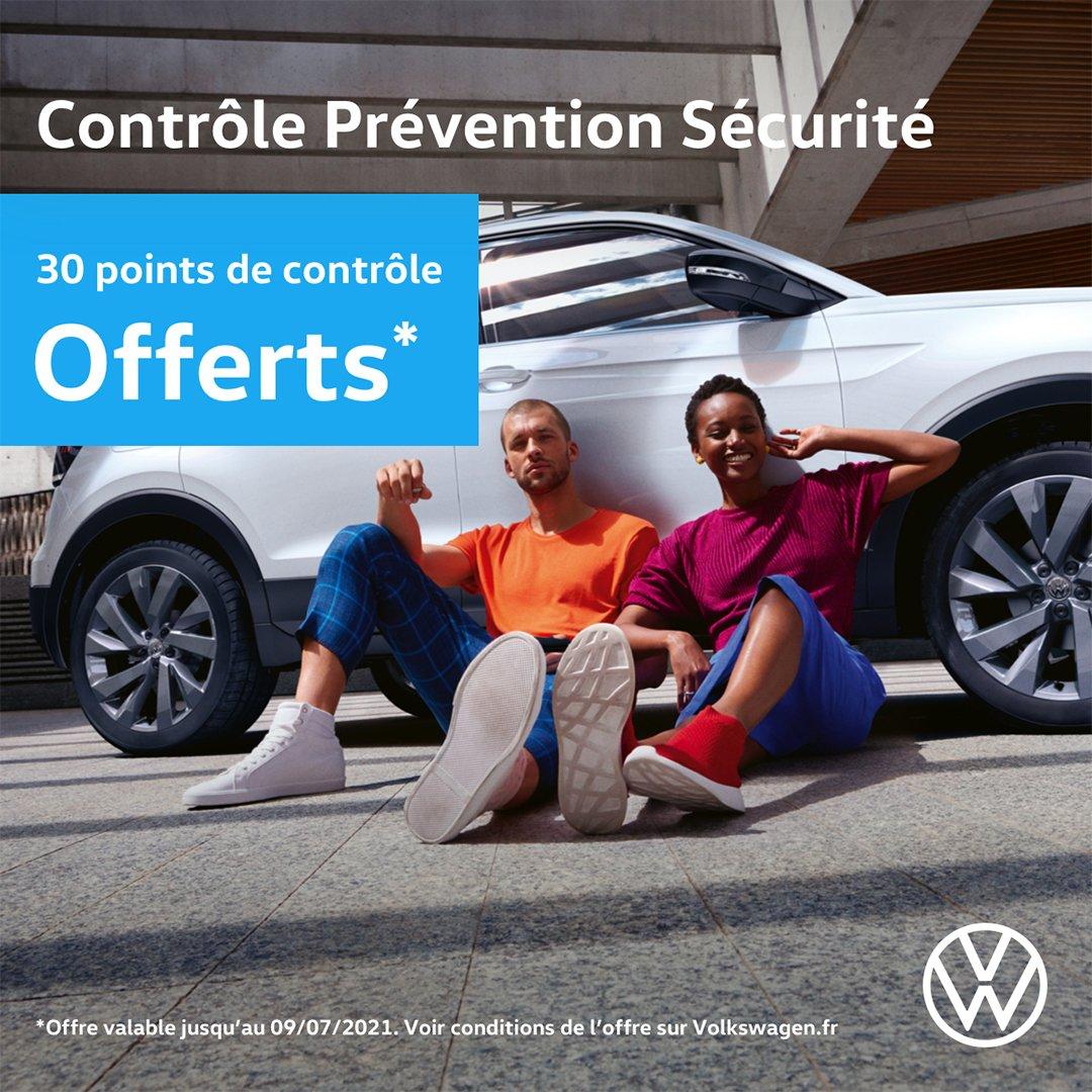 Contrôle Prévention Sécurité Opération Printemps 2021 Volkswagen