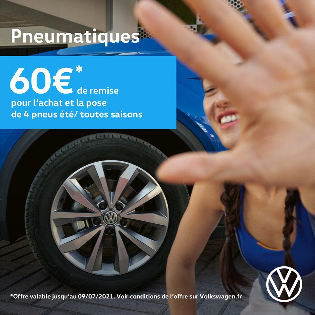 pneumatiques Opération Printemps 2021 Volkswagen