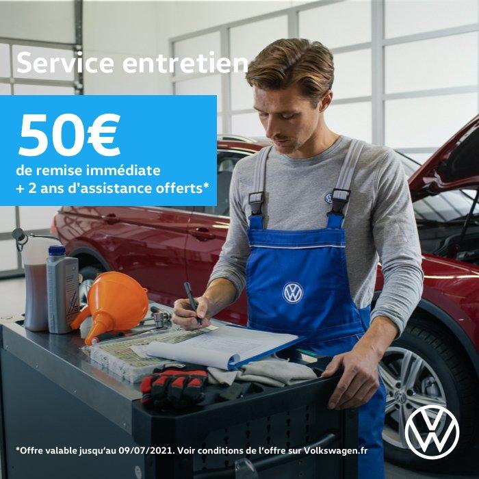 entretien opération Printemps 2021 Volkswagen